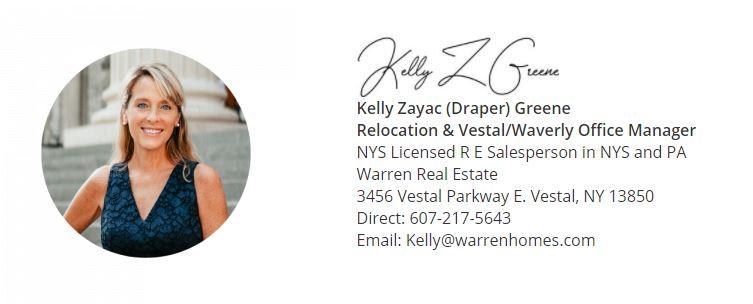 Kelly Z Greene Contact info