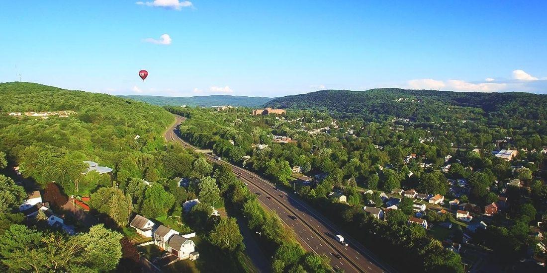 Binghamton ariel view Warren Real Estate Binghamton