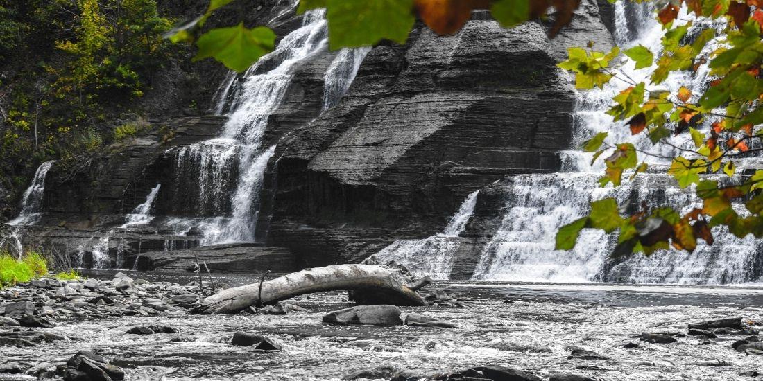 Water Falls Ithaca