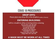 Updated COVID-19 Procedures